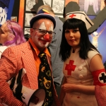 Klown Walt with Nurse Poppy